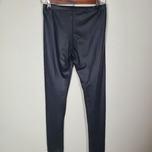 Adrienne Pants - Adrienne Faux Leather Leggings Size Small